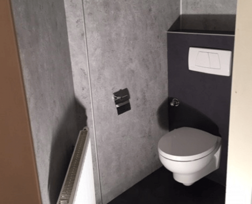 Badsanierung WC Kink Gruppe